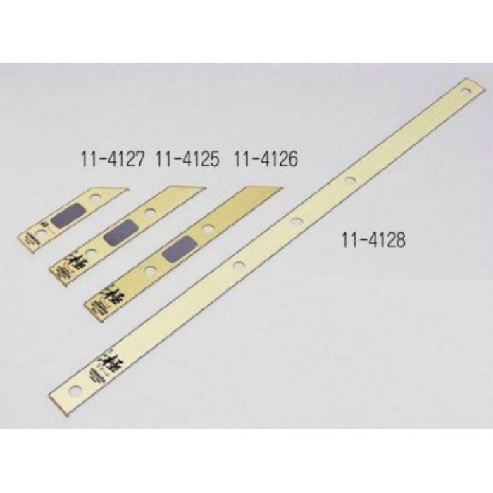 木製定規 極Vアーチ 404mm 刃折板付 11-4126