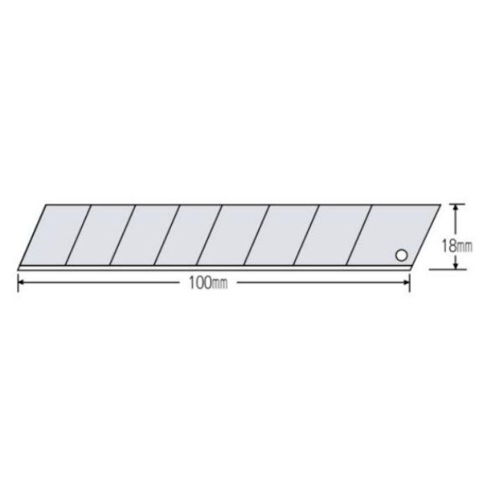 替刃(大) オルファ 替刃 黒刃 LBB-50K 50枚×10本/ケース 63-1534