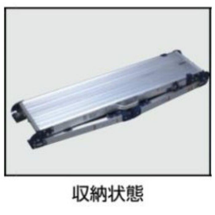 天板・脚伸縮足場台 DWV-S(ピカコーポレイション) DWV-S120LA 64-5168