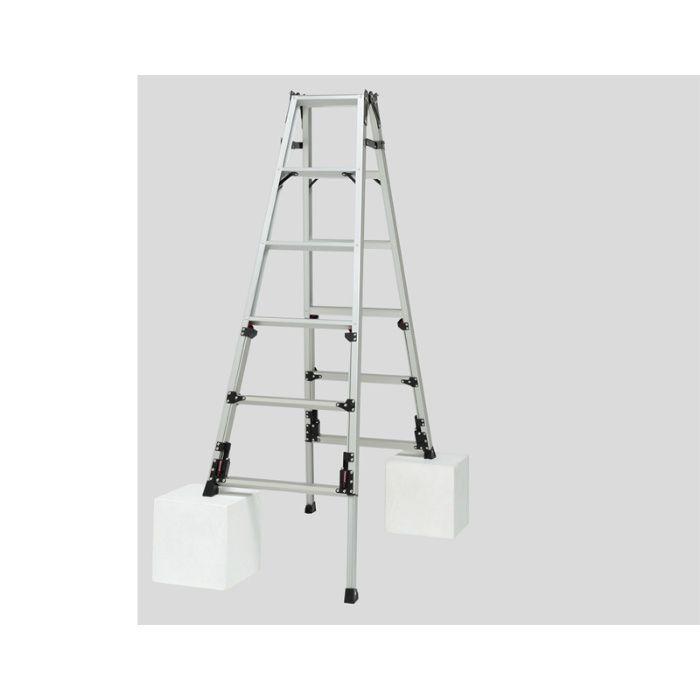 脚伸縮兼用脚立 かるノビSCN 上部操作タイプ(ピカコーポレイション) SCN-150 64-5506