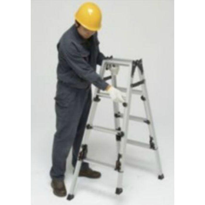脚伸縮兼用脚立 かるノビSCN 上部操作タイプ(ピカコーポレイション) SCN-210 64-5508