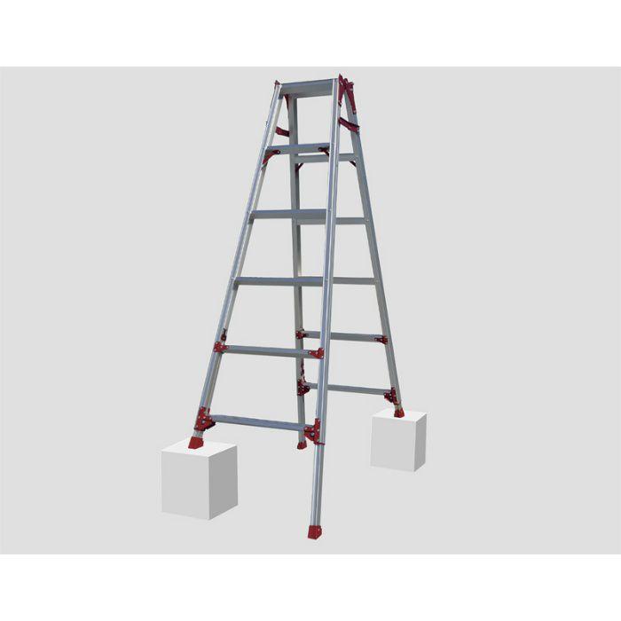 脚伸縮兼用脚立 すぐノビ SCP(ピカコーポレイション) SCP-120 64-5466