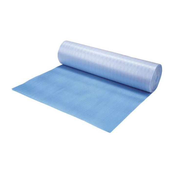 【ロット品】 ブルー養生シート 25m巻 BS25 厚み2mm×巾1m×長さ25m巻 ブルー 5巻/ケース