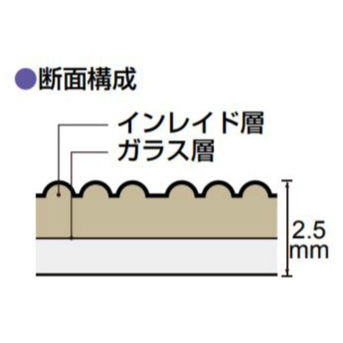VGG-702 防滑性ビニル床シート ビュージスタ GRAN/ジオ 1620mm巾