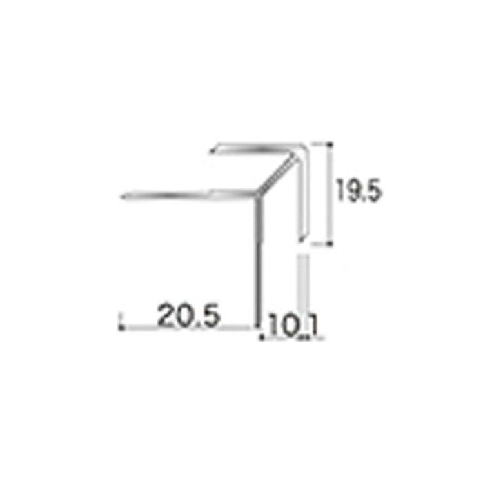 AB6JN アルミジョイナー6(出隅) 9.2mmタイプ 2730mm 【地域限定】
