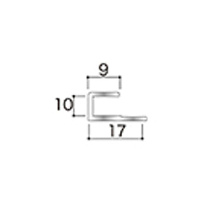 AB8JN アルミジョイナー8(見切り) 9.2mmタイプ 2730mm 【地域限定】