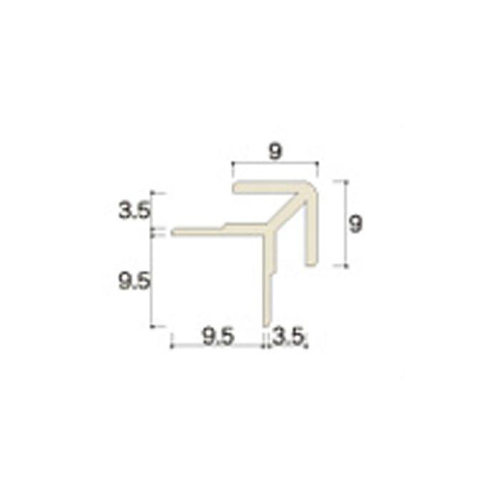 AB33JNA ABSジョイナー33(出隅) 3.2mmタイプ 3075mm アイボリー 【地域限定】
