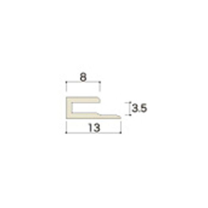 AB43JNA ABSジョイナー43(見切り・入隅) 3.2mmタイプ 3075mm アイボリー 【地域限定】