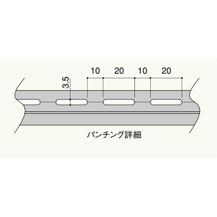 【バラ出荷品】 クリアランス見切用部材 クリアランス見切出隅 C7DW 500mm×500mm ホワイト 1セット