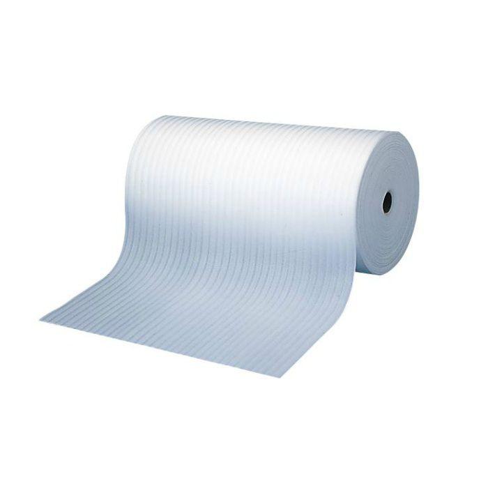 【バラ出荷品】 Fマット FM2X100 厚み2mm×巾1m×長さ100m巻 重量4.5kg 白 1巻