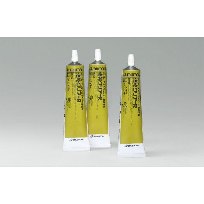 速乾クリアーR 塩ビ系、アルミジョイナー用接着剤 170ml×50