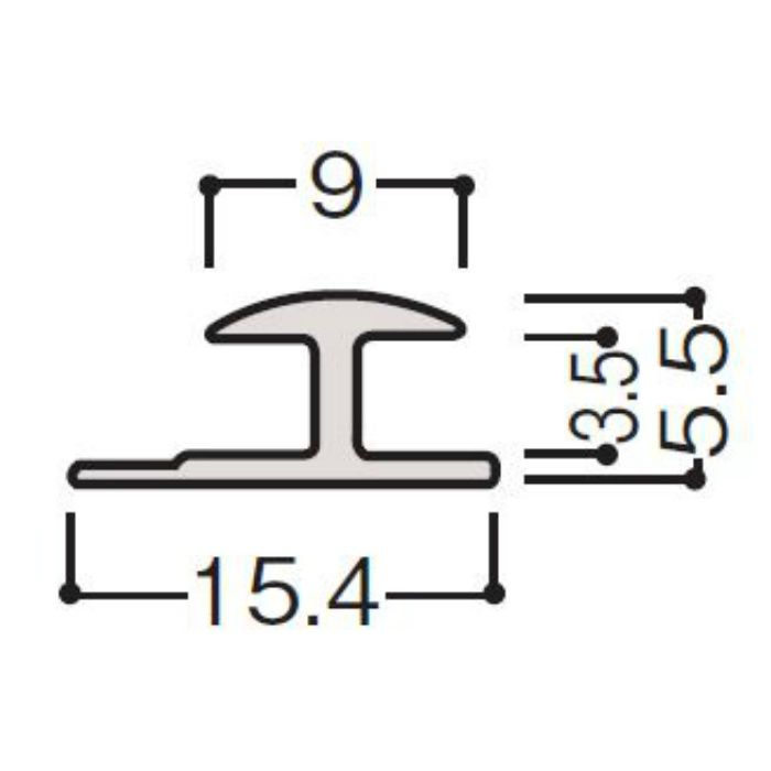 WF30-B411 グラビオ専用施工部材 グラビオLS/LA/TA石目・抽象柄 ホワイト アルミジョイナー