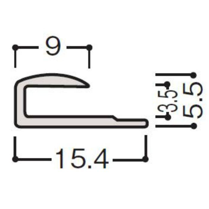 WF30-B651 グラビオ専用施工部材 グラビオLS/LA/TA石目・抽象柄 ダークグレー 抗菌ABSジョイナー