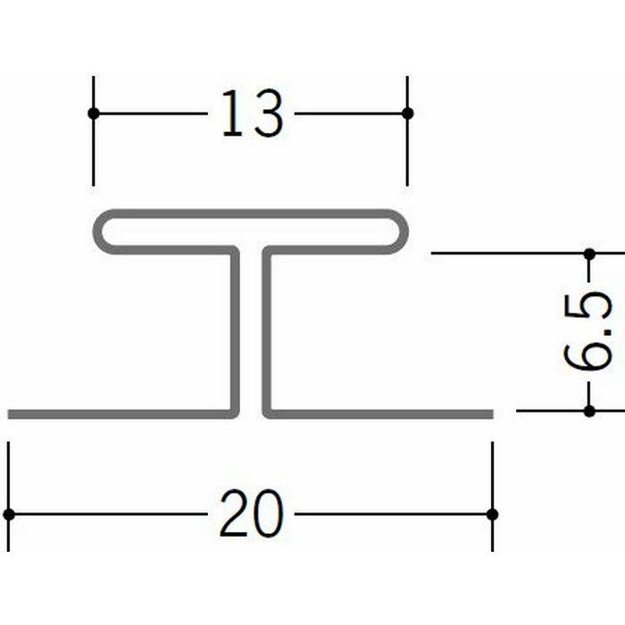 コ型・H型ジョイナー 金属折曲げ 亜鉛折曲H-6.5 アエン 1.82m 63212