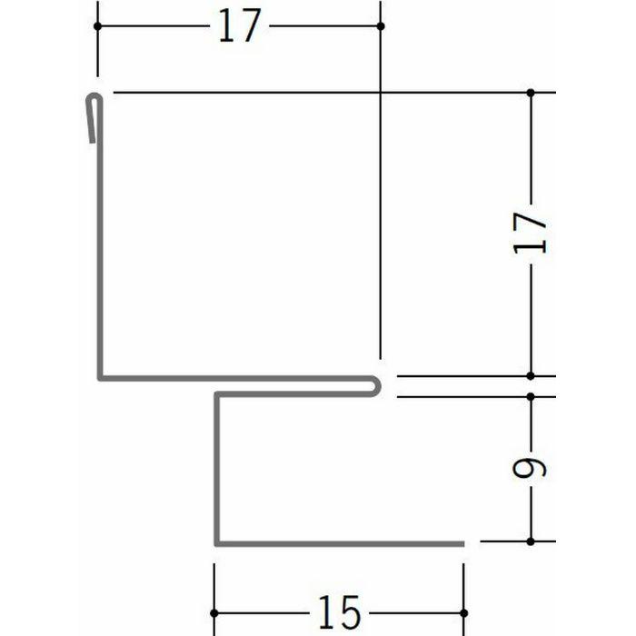 出隅・入隅ジョイナー 金属折曲げ 亜鉛入隅8B アエン 1.82m 63158