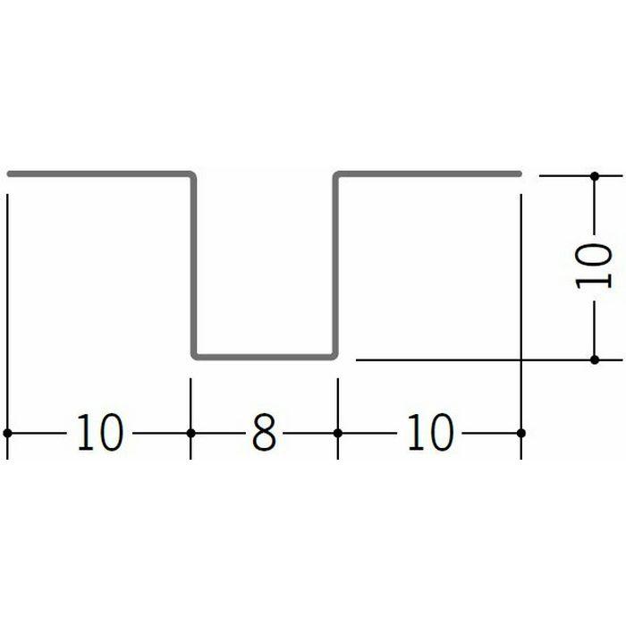 ハット型ジョイナー 金属折曲げ 亜鉛折曲ハット型3号 アエン 1.82m 63263