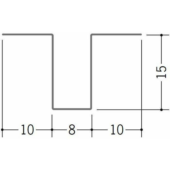ハット型ジョイナー 金属折曲げ 亜鉛折曲ハット型5号 アエン 1.82m 63264