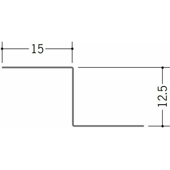 切板・水切・Tバー 金属折曲げ 亜鉛折曲水切12 アエン 1.82m 63245
