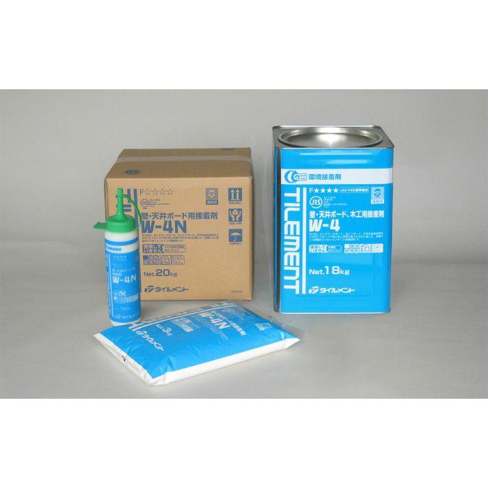 W-4N 5kg 壁・天井ボード用接着剤 4個/ケース