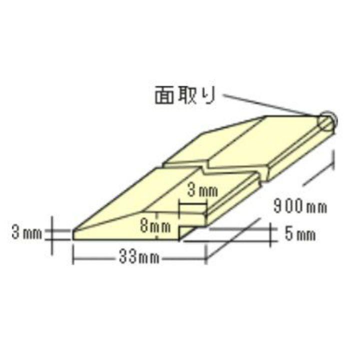 トッパーコルク 額縁用G8 コルク造作材 掲示板用コルク部材