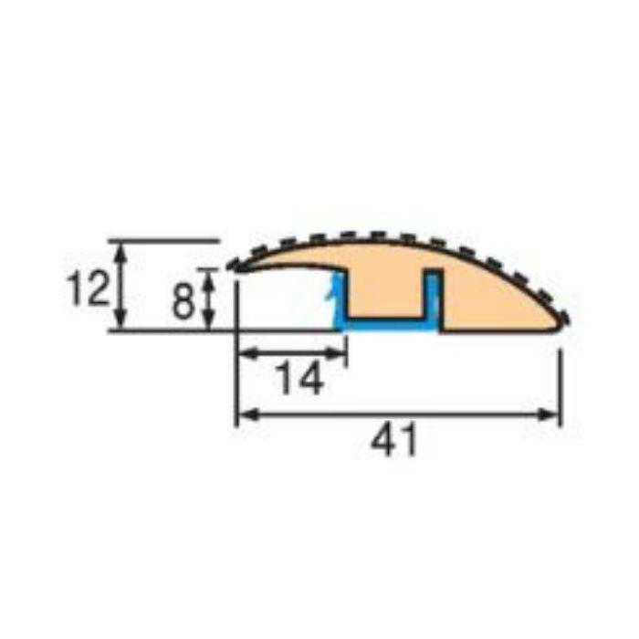 トッパーコルク コルク柄合成段差ミキリSM-11 スピード施工コルクフローリング専用納め部材