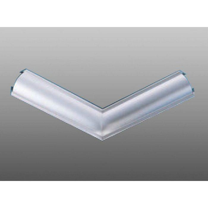クリーンルーム用ボーダー アルミ CPB-2直角入隅(天井9mm) シルバー 1辺あたり250mm(働き寸法) 57071