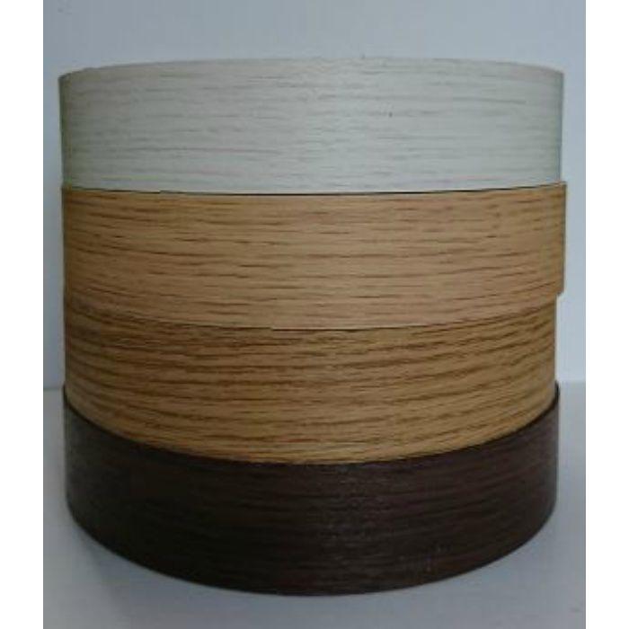 【5%OFF】KD52066 粘着付き木口テープ 木目 ミディアムオーク 18mm巾 5m