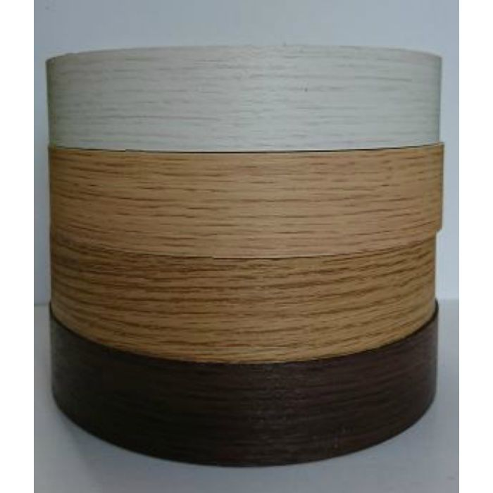【5%OFF】KD52066 粘着付き木口テープ 木目 ミディアムオーク 33mm巾 10m