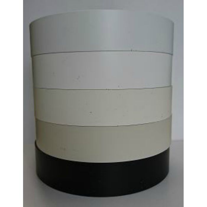 【5%OFF】KL434-80 粘着付き木口テープ 単色 フロスティーホワイト 18mm巾 10m