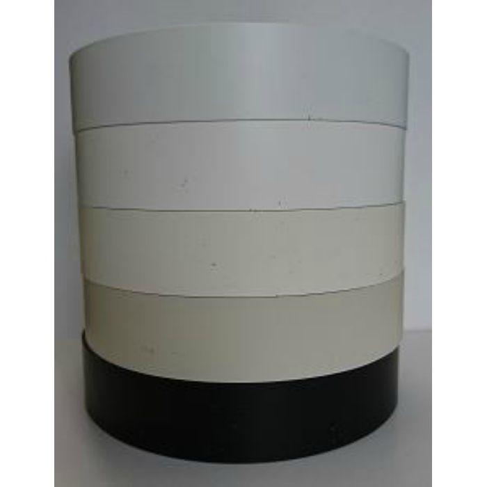 KL438-80 粘着付き木口テープ 単色 アイボリーホワイト 24mm巾 5m