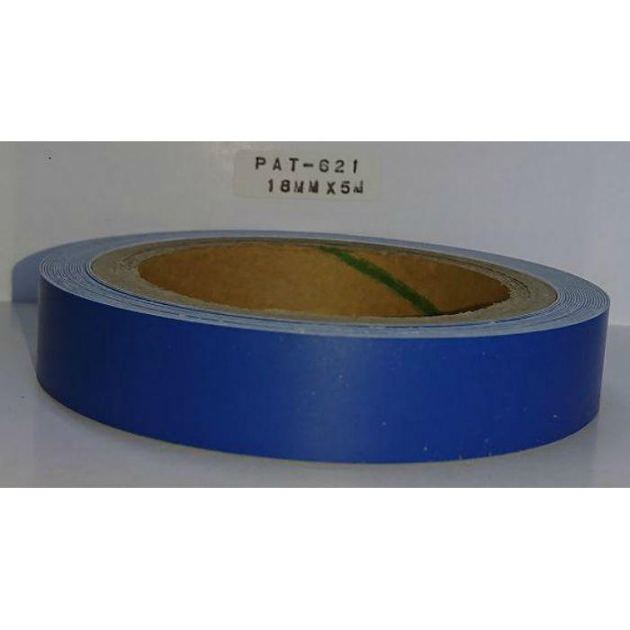 【5%OFF】PAT-621 粘着付き木口テープ 淡彩色 18mm巾 5m