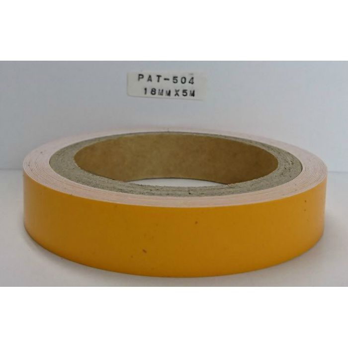 【5%OFF】PAT-504 粘着付き木口テープ 淡彩色 33mm巾 5m