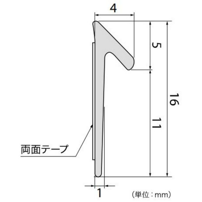 【5%OFF】PM-4763 Sフロア モール材 (旧品番:PM1721)