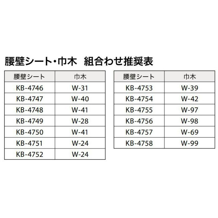 【5%OFF】KB-4758 Sフロア 腰壁シート 織物調 (旧品番:KB1504)