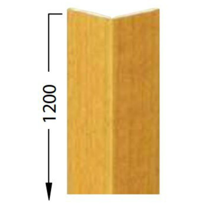 KB-4749-4 Sフロア 腰壁シート コーナー材(出隅材) (旧品番:KB1495-4)