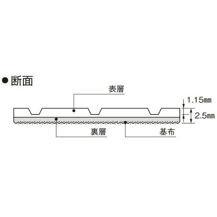 SCE-205 ロンマットME スコア 1620mm巾
