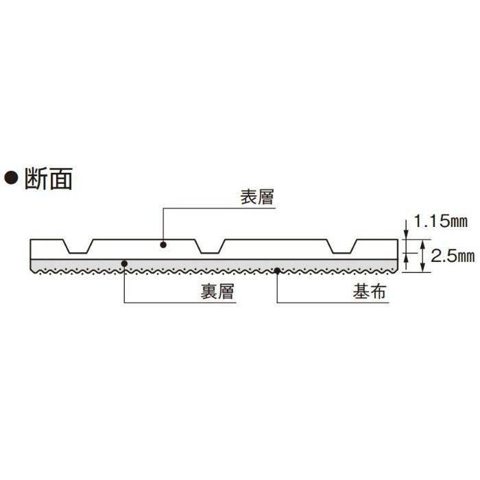 SCE-205 ロンマットME スコア 1820mm巾