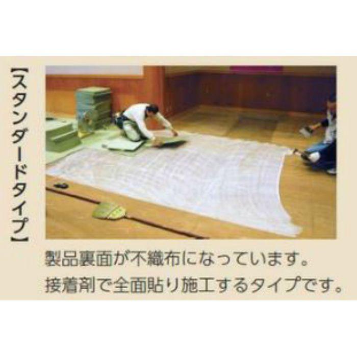 TC51001 和風タイルカーペット「防炎洗えるタイル畳」 グリーン スタンダード