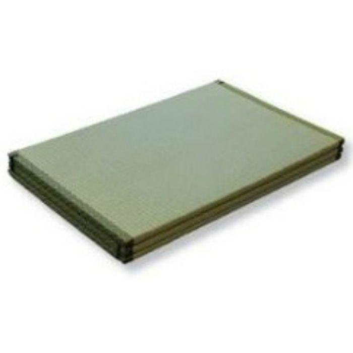 TJ12015 三つ折畳「ねころん」 い草表 厚26mm
