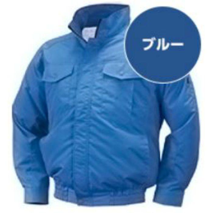 NA-111 NSPオリジナル空調服 前ポケ/チタン/タチエリ仕様 補強有  服単品 ブルー 3L