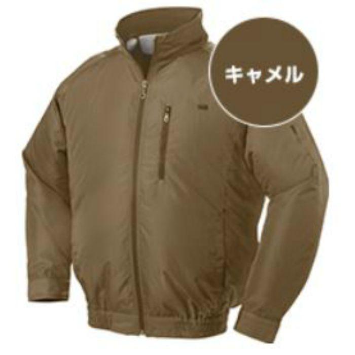 NA-301 NSPオリジナル空調服 ポリエステル/タチエリ仕様 補強無 服単品 キャメル 3L
