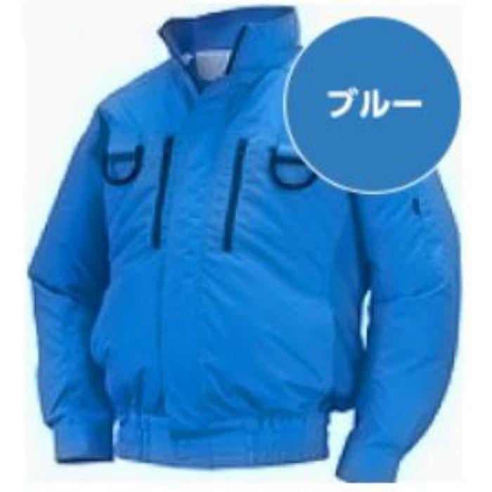 NA-313 NSPオリジナル空調服 ポリエステル/タチエリ/フルハーネス仕様 補強有 服単品 ブルー 3L