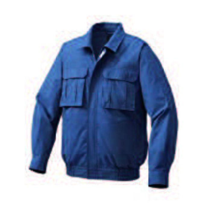 KU91900 綿薄手脇下マチ付き空調服TM(ウェアのみ) ネイビー L