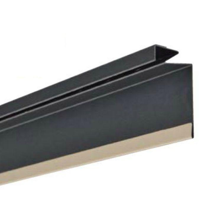 FVK-N0818F-L27-AG 通気見切(スリムタイプ) アンバーグレー 外装材差込口18mm