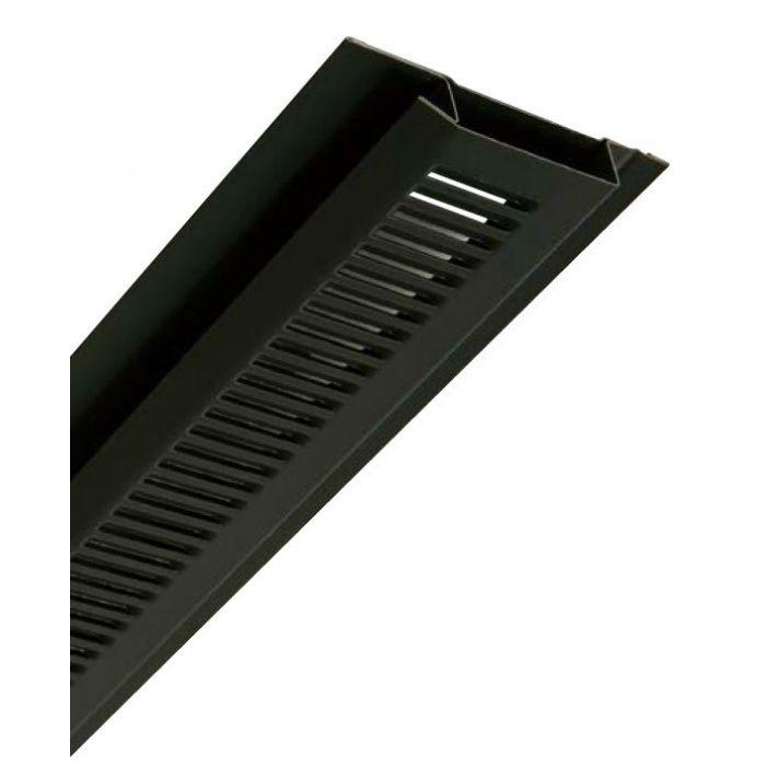 FV-N06F-L27-BK 鋼板製 軒天換気材(軒先タイプ) 9尺タイプ ブラック