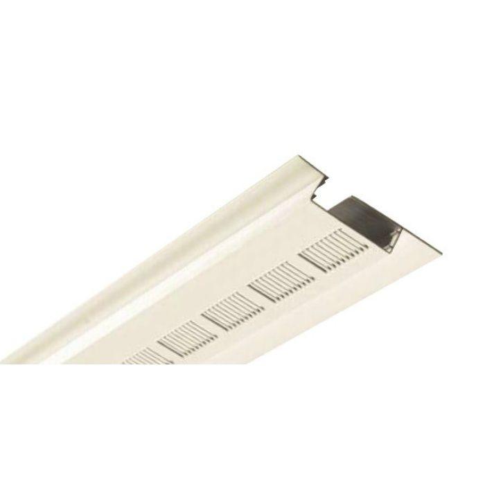 FV-N03PN-WT 樹脂製 軒天換気用見切縁 ホワイト