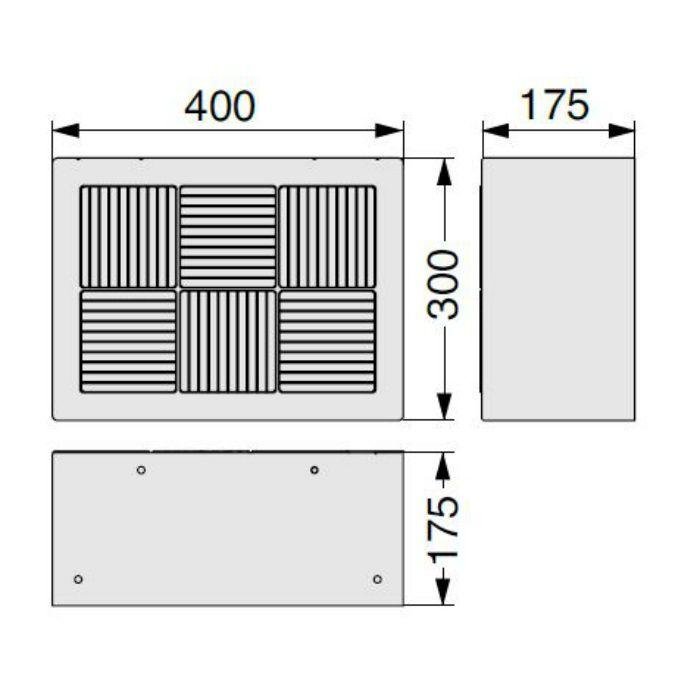 BU-CUB-6040D 小ステップ ライトグレー