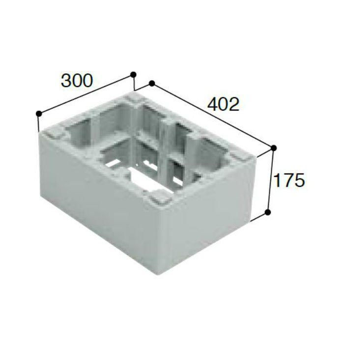 BU-CUB-6040-HD2 小ステップアジャスター 2段 ライトグレー