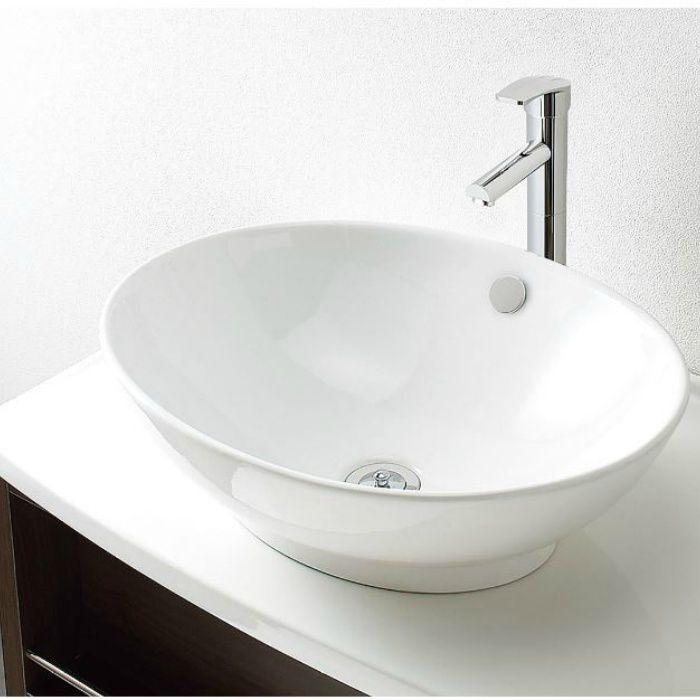 LGA002V 洗面化粧台セット オーラ600 ホワイト 寒冷地仕様