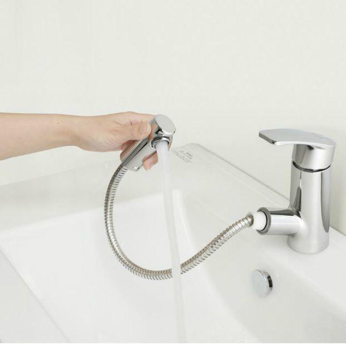 LHA201B 洗面化粧台セット アール750 ダークブラウン 一般地仕様